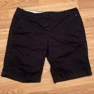 Tommy Hilfiger black Bermuda shorts